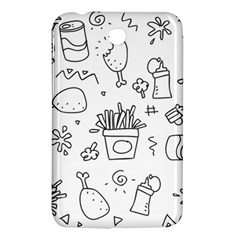 Set Chalk Out Scribble Collection Samsung Galaxy Tab 3 (7 ) P3200 Hardshell Case