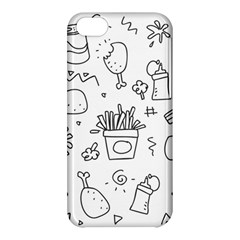 Set Chalk Out Scribble Collection Apple Iphone 5c Hardshell Case