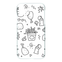 Set Chalk Out Scribble Collection Apple Iphone X Hardshell Case