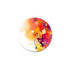 Paint Splash Paint Splatter Design Golf Ball Marker (10 Pack)