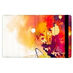 Paint Splash Paint Splatter Design Apple Ipad 3/4 Flip Case