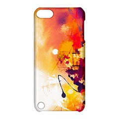 Paint Splash Paint Splatter Design Apple Ipod Touch 5 Hardshell Case With Stand