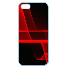 Background Light Glow Abstract Art Apple Seamless Iphone 5 Case (color)