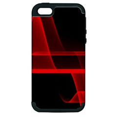 Background Light Glow Abstract Art Apple Iphone 5 Hardshell Case (pc+silicone)