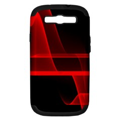Background Light Glow Abstract Art Samsung Galaxy S Iii Hardshell Case (pc+silicone)
