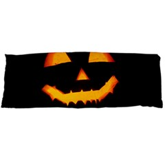 Pumpkin Helloween Face Autumn Body Pillow Case Dakimakura (two Sides)