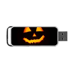 Pumpkin Helloween Face Autumn Portable Usb Flash (one Side)