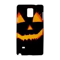 Pumpkin Helloween Face Autumn Samsung Galaxy Note 4 Hardshell Case
