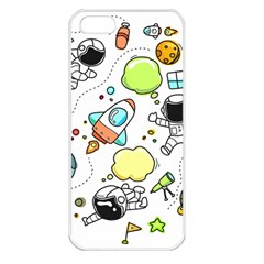 Sketch Set Cute Collection Child Apple Iphone 5 Seamless Case (white)