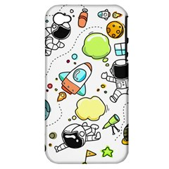 Sketch Set Cute Collection Child Apple Iphone 4/4s Hardshell Case (pc+silicone)