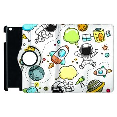 Sketch Set Cute Collection Child Apple Ipad 3/4 Flip 360 Case