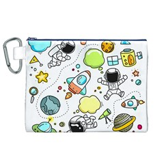 Sketch Set Cute Collection Child Canvas Cosmetic Bag (xl)