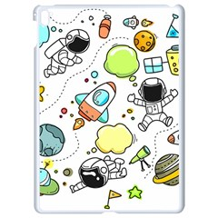 Sketch Set Cute Collection Child Apple Ipad Pro 9 7   White Seamless Case