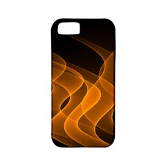 Background Light Glow Abstract Art Apple Iphone 5 Classic Hardshell Case (pc+silicone)