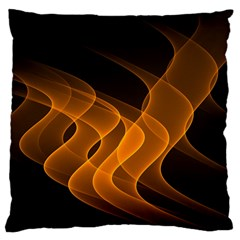 Background Light Glow Abstract Art Standard Flano Cushion Case (one Side)