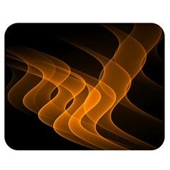 Background Light Glow Abstract Art Double Sided Flano Blanket (medium)
