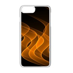 Background Light Glow Abstract Art Apple Iphone 8 Plus Seamless Case (white)