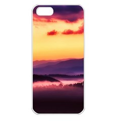 Great Smoky Mountains National Park Apple Iphone 5 Seamless Case (white)