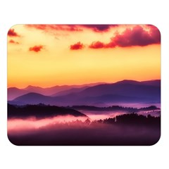 Great Smoky Mountains National Park Double Sided Flano Blanket (large)