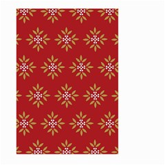 Pattern Background Holiday Large Garden Flag (two Sides)