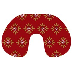 Pattern Background Holiday Travel Neck Pillows