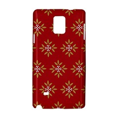 Pattern Background Holiday Samsung Galaxy Note 4 Hardshell Case