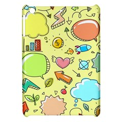 Cute Sketch Child Graphic Funny Apple Ipad Mini Hardshell Case