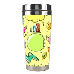 Cute Sketch Child Graphic Funny Stainless Steel Travel Tumblers