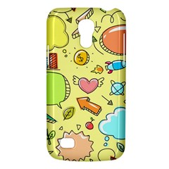 Cute Sketch Child Graphic Funny Galaxy S4 Mini