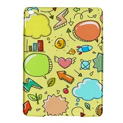 Cute Sketch Child Graphic Funny Ipad Air 2 Hardshell Cases