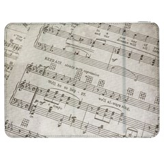 Sheet Music Paper Notes Antique Samsung Galaxy Tab 7  P1000 Flip Case
