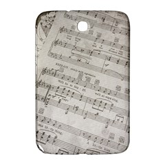 Sheet Music Paper Notes Antique Samsung Galaxy Note 8 0 N5100 Hardshell Case