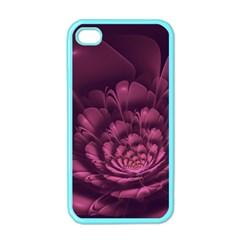 Fractal Blossom Flower Bloom Apple Iphone 4 Case (color)