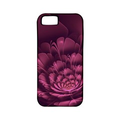 Fractal Blossom Flower Bloom Apple Iphone 5 Classic Hardshell Case (pc+silicone)