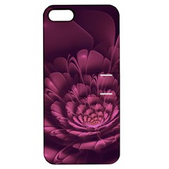 Fractal Blossom Flower Bloom Apple Iphone 5 Hardshell Case With Stand