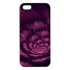 Fractal Blossom Flower Bloom Apple Iphone 5 Premium Hardshell Case