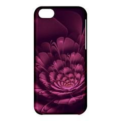 Fractal Blossom Flower Bloom Apple Iphone 5c Hardshell Case