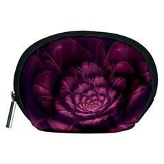 Fractal Blossom Flower Bloom Accessory Pouches (medium)