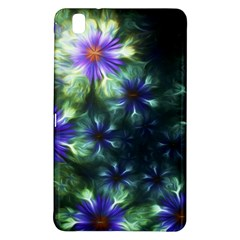 Fractal Painting Blue Floral Samsung Galaxy Tab Pro 8 4 Hardshell Case