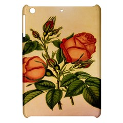 Vintage Flowers Floral Apple Ipad Mini Hardshell Case