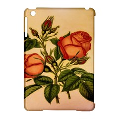 Vintage Flowers Floral Apple Ipad Mini Hardshell Case (compatible With Smart Cover)