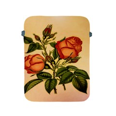 Vintage Flowers Floral Apple Ipad 2/3/4 Protective Soft Cases