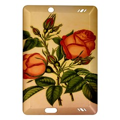 Vintage Flowers Floral Amazon Kindle Fire Hd (2013) Hardshell Case