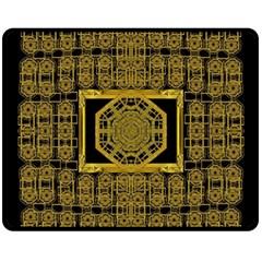 Beautiful Stars Would Be In Gold Frames Fleece Blanket (medium)