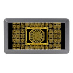 Beautiful Stars Would Be In Gold Frames Memory Card Reader (mini)