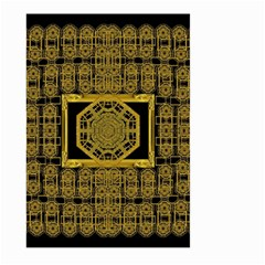 Beautiful Stars Would Be In Gold Frames Large Garden Flag (two Sides)