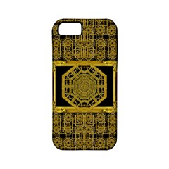 Beautiful Stars Would Be In Gold Frames Apple Iphone 5 Classic Hardshell Case (pc+silicone)