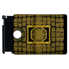 Beautiful Stars Would Be In Gold Frames Apple Ipad 3/4 Flip 360 Case