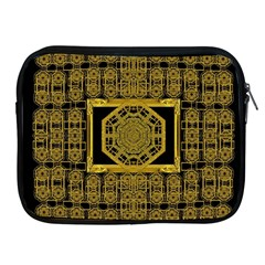 Beautiful Stars Would Be In Gold Frames Apple Ipad 2/3/4 Zipper Cases