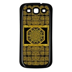 Beautiful Stars Would Be In Gold Frames Samsung Galaxy S3 Back Case (black)